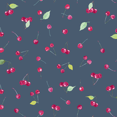 Art Gallery Floralish Cherry Picking Knit Fabric