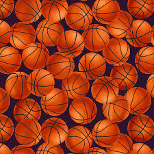 Blank Quilting Love Of The Game Basketball