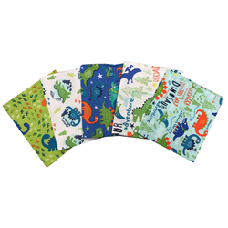 The Craft Cotton Company Dinosaur Fat Quarter Bundle