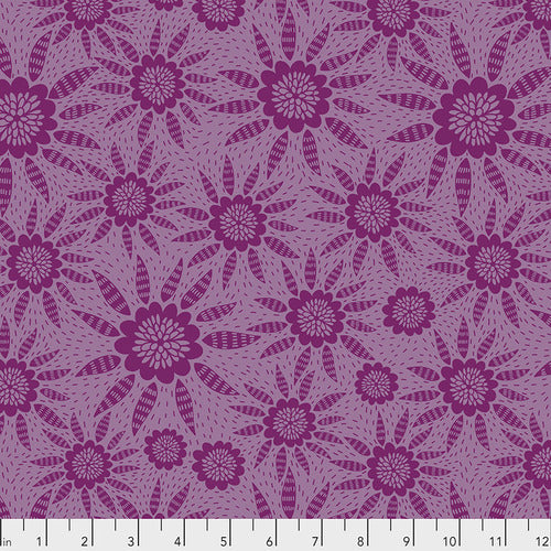 Second Nature Joy Quilting Cotton - Garnet