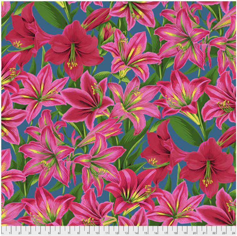 Copy of Kaffe Fassett Collective Amaryllis Fabric - Red