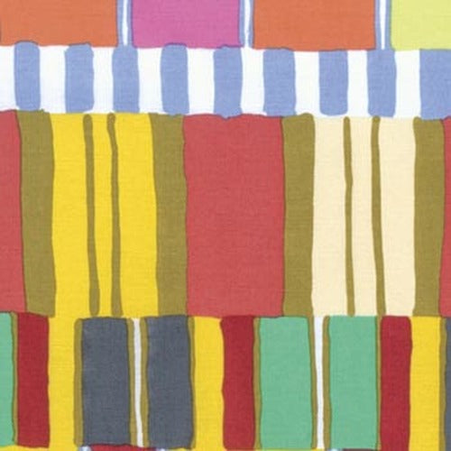 Kaffe Fassett Collective Layered Stripe Quilting Cotton - Yellow