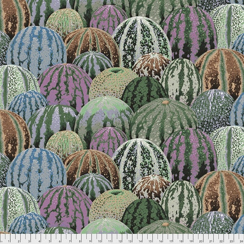 Kaffe Fassett Collective Watermelon Fabric - Grey