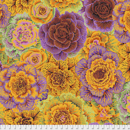 Kaffe Fassett Collective Brassica Orange Quilting Cotton