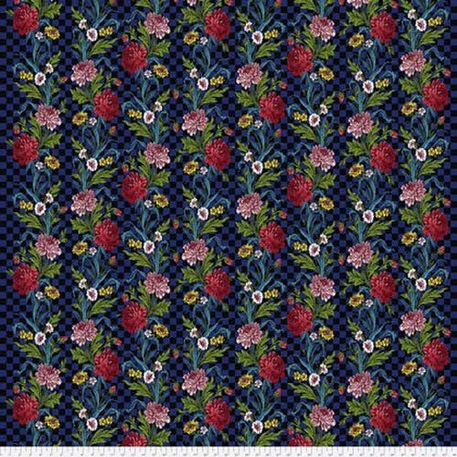 Free Spirit Broderie Boheme Flowers In My Kitchen - Onyx