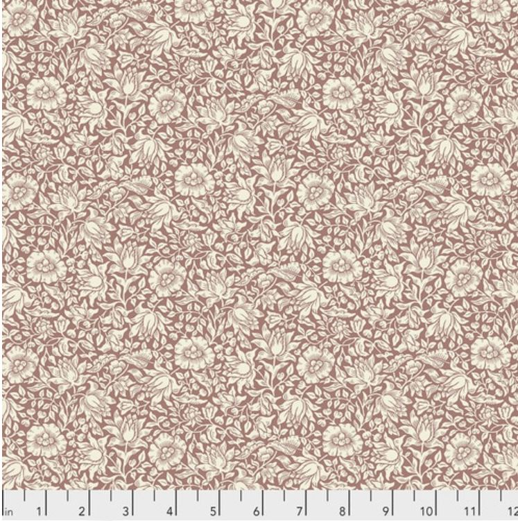 Free Spirit Orkney Mallow Quilting Cotton - Rose