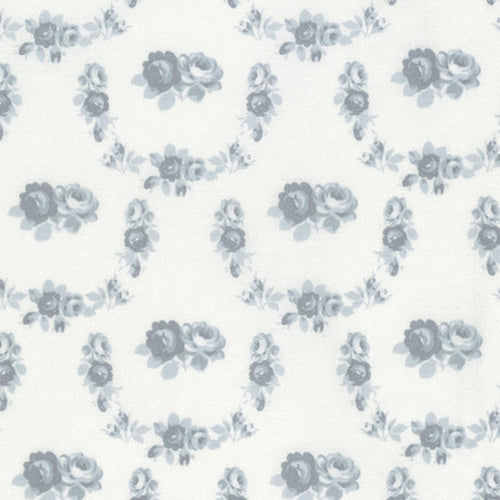 Free Spirit Shades Of Rose Trellis Quilting Cotton - Grey