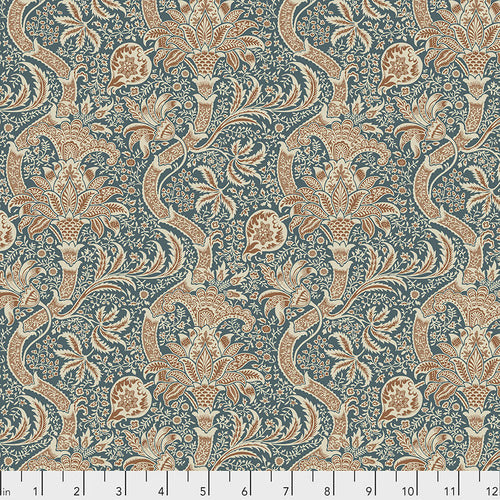 Free Spirit Montagu Indian Quilting Cotton - Forest