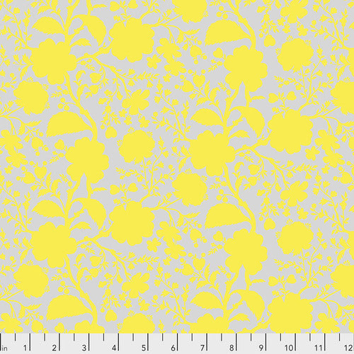 Free Spirit Tula Pink True Colours Wildflower Fabric - Daisy