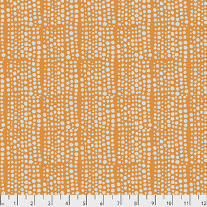 Free Spirit Murmur Dots Quilting Cotton - Orange