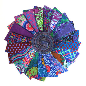Kaffe Fassett Collective Classics Peacock Jelly Roll