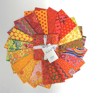 "Kaffe Fassett Collective 5"" Charm Pack Citrus"