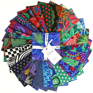 "Kaffe Fassett Collective 5"" Charm Pack Dark"
