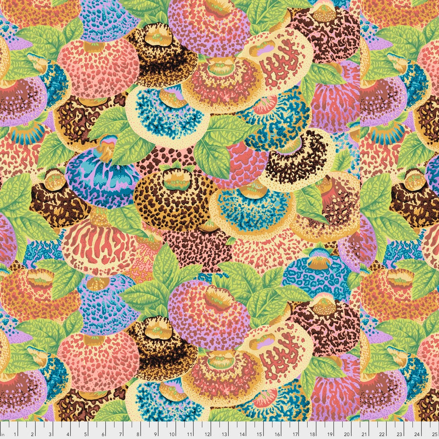 Kaffe Fassett Collective Lady's Purse Ochre Fabric