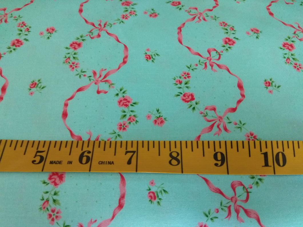 Ribbons in Bloom quilting cotton