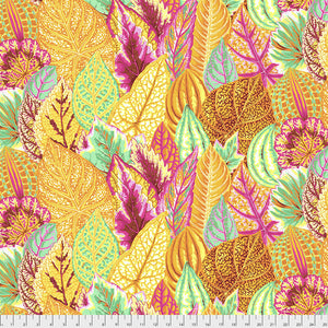 Kaffe Fassett Collective Coleus Yellow Quilting Cotton