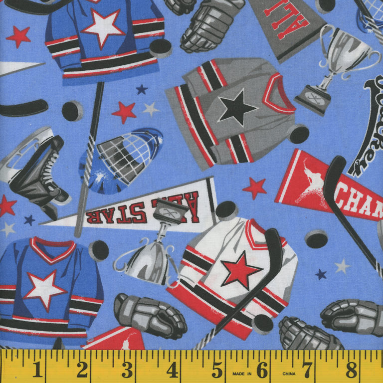 Game Hockey Gear Fabric