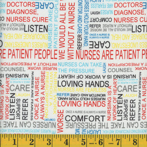 Nurse Cotton Fabric