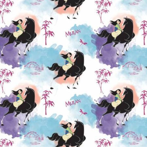 Camelot Journey Of My Own Mulan Fabric