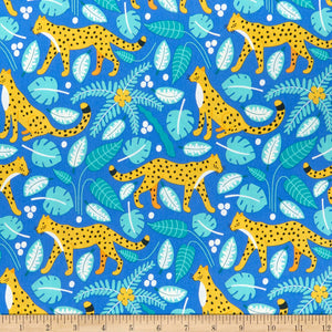 Nerida Hansen Wildlife Treasures Leopards - Bright