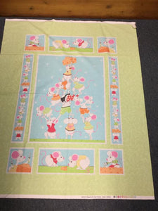 Norton The Mouse Quilting Panel