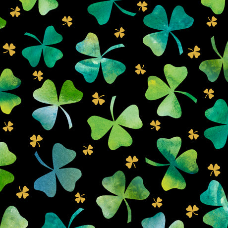 Quilting Treasures Irish Charm Shamrock