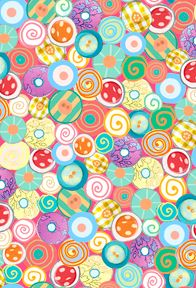Quilting Treasures Animal Parade Buttons