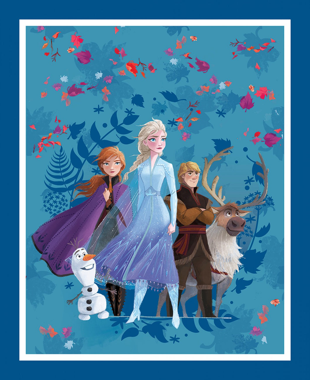 Frozen 2 Quilting Panel