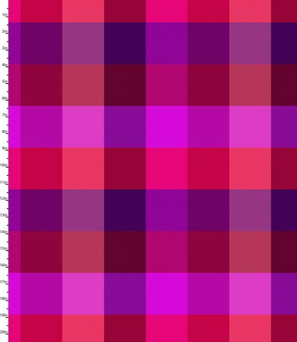 Peppered Plaid Pink Blender Quilting Fabric