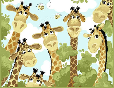 Zoe The Giraffe Play Mat Panel