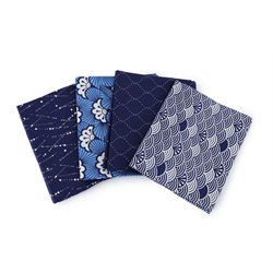The Craft Cotton Company Kimono Waves Fat Quarter Bundle