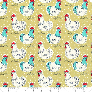 Windham Homestead Life Chicken Fancy Fabric