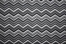 Black and White Chevron PUL Fabric