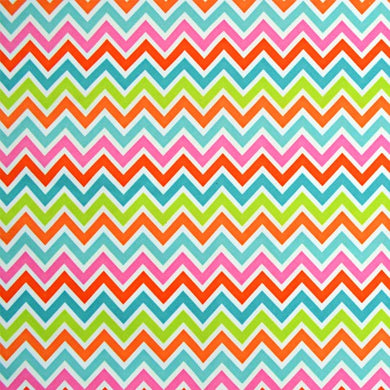 Bright Chevron PUL Fabric