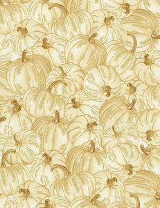 Timeless Treasures Country Harvest Pumpkins Fabric