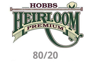 Heirloom Hobbs 80/20 Premium Crib Batting 45
