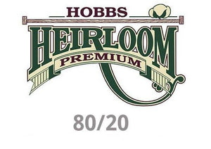 "Heirloom Hobbs 80/20 Premium Crib Batting 45"" x 60"""