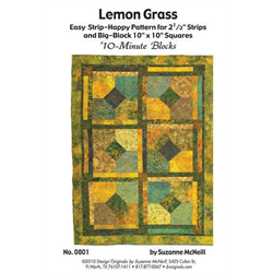 Lemon Grass Quilt Pattern