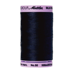 Mettler Silk Finish Black Thread