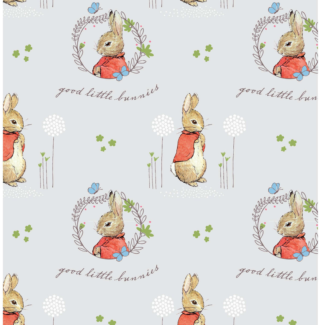 Peter Rabbit Flopsy Mopsy Quilting Fabric