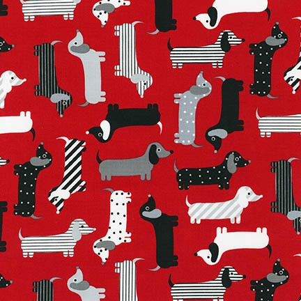 Robert Kaufman Urban Zoologie Dogs - Red