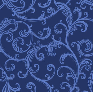Star Dust Blue Blender Quilting Fabric