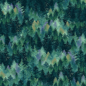 Studio E Woodland Wonder Tree Fabric