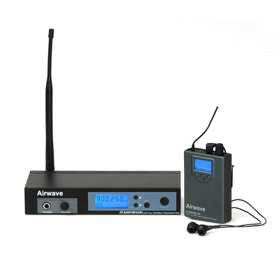 Airwave Technologies wireless microphone system handheld headset for church school theater vocal sing