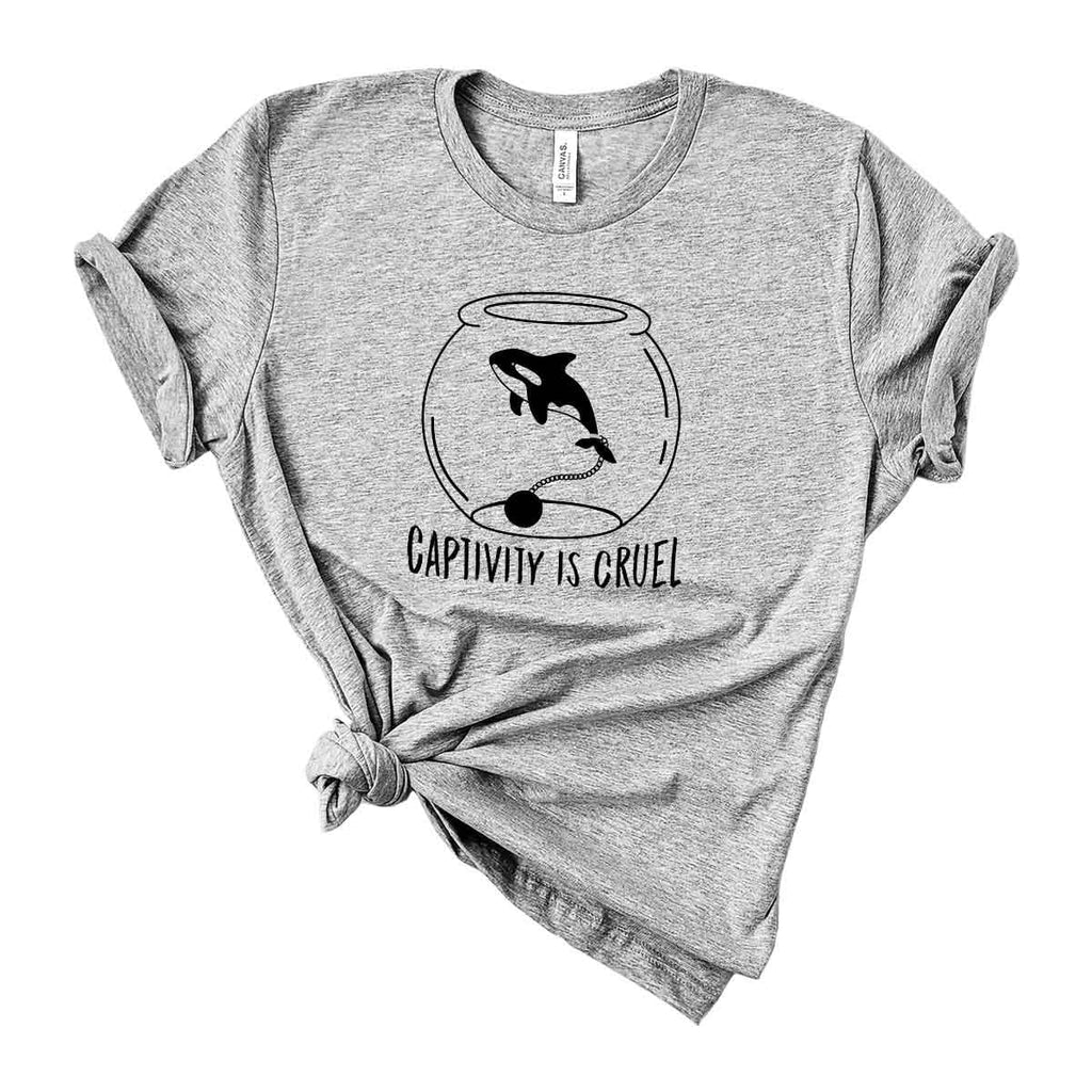 Captivity Is Cruel T-Shirt