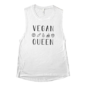 Vegan Queen Muscle Tank