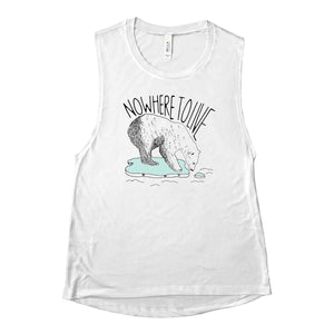 Nowhere To Live Muscle Tank