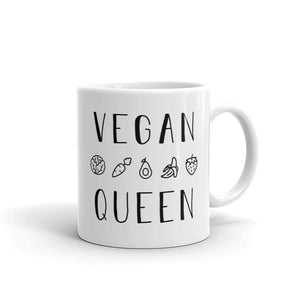 Vegan Queen - Coffee Mug