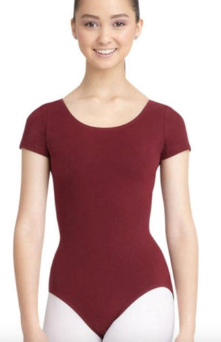 Capezio Short Sleeved Leotard CC400