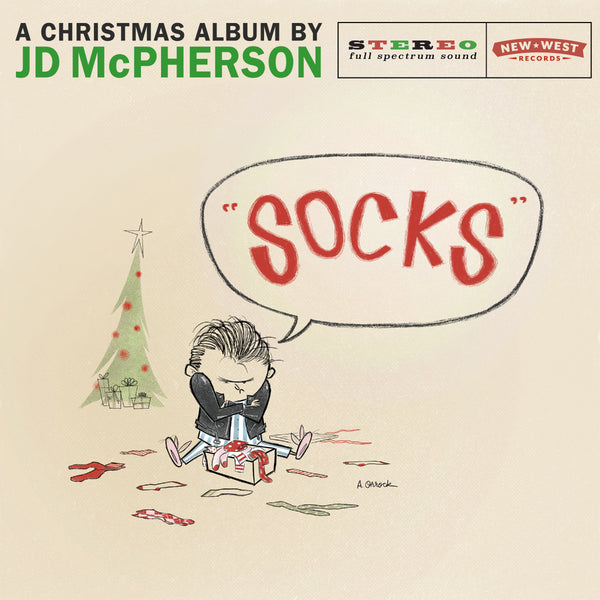 JD McPherson - SOCKS [New West Exclusive Coal-Colored Vinyl]